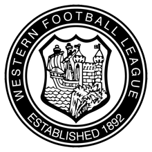 Western League Badge.